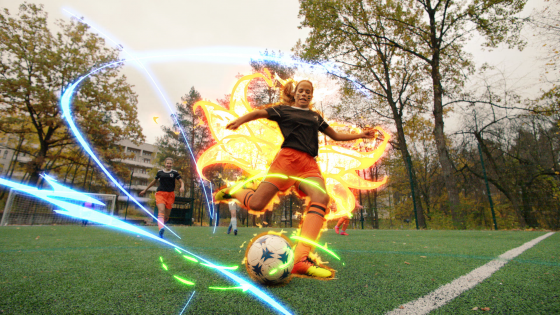 Soccer-Still-Laser-1-560x315 Crunchyroll Officially Launches Brand Campaign - Stay Crunchy!