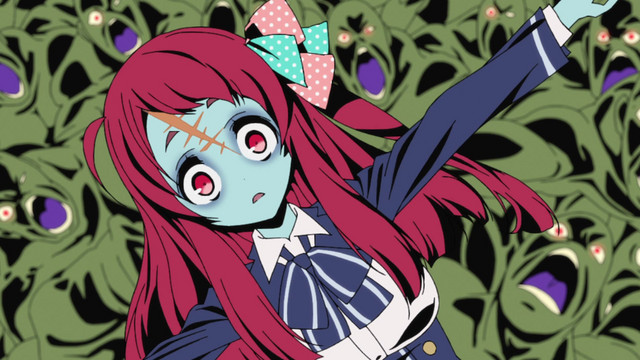 ZOMBIELAND-SAGA-Wallpaper Top 10 Monster Anime [Updated Best Recommendations]