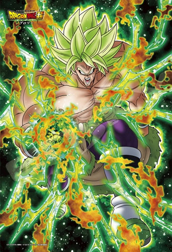 Dragon-Ball-Super-Broly-Wallpaper Broly Through the Years (Dragon Ball)