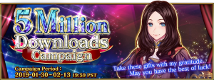 Fate/Grand Order's English Version Celebrates 5 Million Downloads!