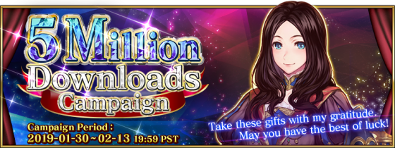 Fate-Grand-Order-5-mill-560x210 Fate/Grand Order's English Version Celebrates 5 Million Downloads!