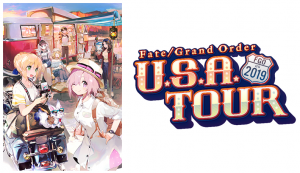 Fate/Grand Order USA Tour 2019 Kicks Off with a Major Two Day Event in Los Angeles!