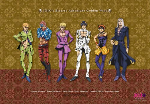 JoJos-Bizarre-Adventure-Golden-Wind-Wallpaper-500x500 Here's Why You NEED to Watch JoJo's Bizarre Adventure: Golden Wind