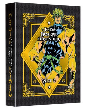 VIZ Media Debuts Latest JOJO'S BIZARRE ADVENTURE Home Media Anime Release