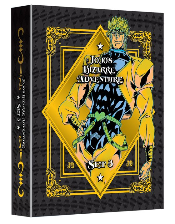 JoJosBizarreAdventure-Set03-BattleInEgypt-LimitedEditionBluray-3D-560x716 VIZ Media Debuts Latest JOJO'S BIZARRE ADVENTURE Home Media Anime Release