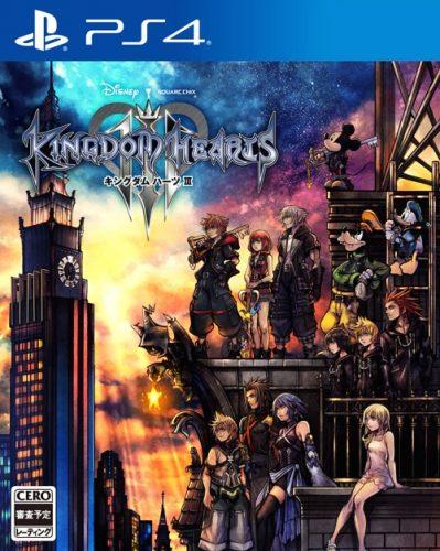 KINGDOM-HEARTS-3-399x500 Weekly Game Ranking Chart [01/24/2018]