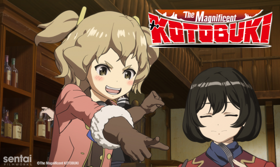 "Koya-no-Kotobuki-Hikotai-SentaiNews_KotobukiFlightCorps-560x335 Sentai Filmworks Deploys ""The Magnificent KOTOBUKI"""