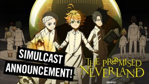 "HIDIVE Journeys to ""The Promised Neverland"""