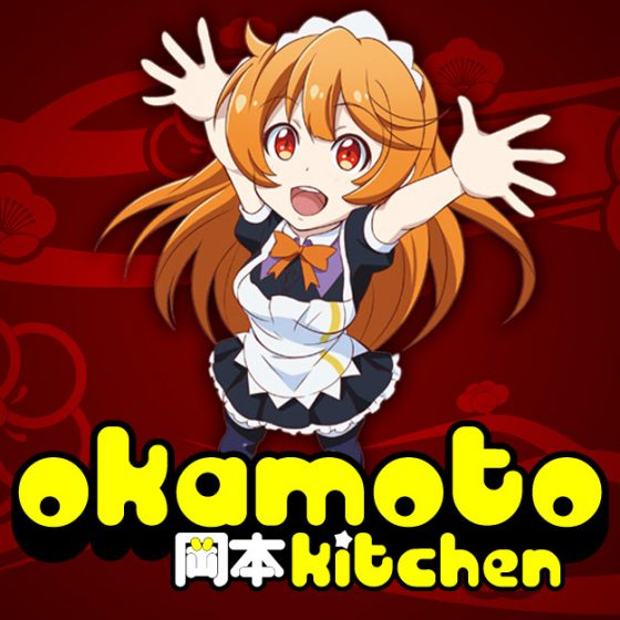 Okamoto-Kitchen-Logo-560x560 Okamoto Kitchen Anime Kickstarter UPDATE! Good News!