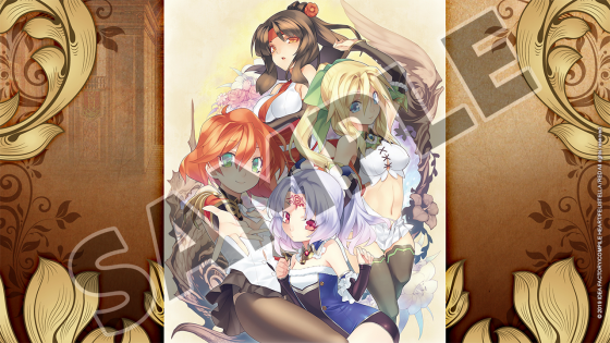 Record-of-Agarest-War-Mariage Record of Agarest War Mariage Is Set to Arrive on Steam This February + More Screenshots!