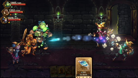 SteamWorld_Quest_Screenshot_7-560x315 SteamWorld Quest: The Hand of Gilgamech llegará a Nintendo Switch en 2019