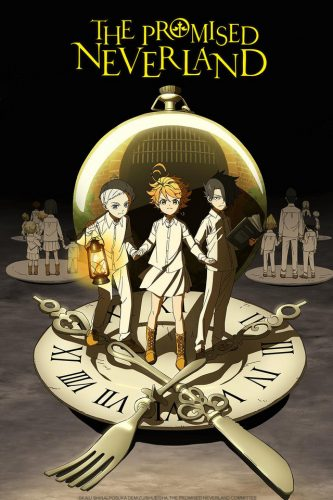 The-Promised-Neverland-333x500 Crunchyroll Announces Winter Titles for New Year's Goals! Stay Motivated for 2019!
