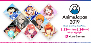 KLabGames Will Officially be at AnimeJapan 2019!