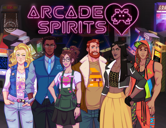 Arcade-Spirits-logo-560x431 La novela visual Arcade Spirits, ¡ya disponible!