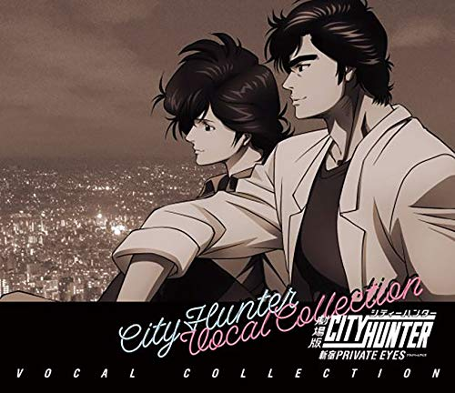 City-Hunter-the-Movie-Shinjuku-Private-Eyes-Vocal-Collection-by-V.A. Weekly Anime Music Chart  [02/11/2019]