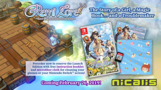 Logo-Lost-Girl-in-the-Lands-of-Lore-capture-500x312 Unboxing RemiLore ~Lost Girl in the Lands of Lore~ for Nintendo Switch