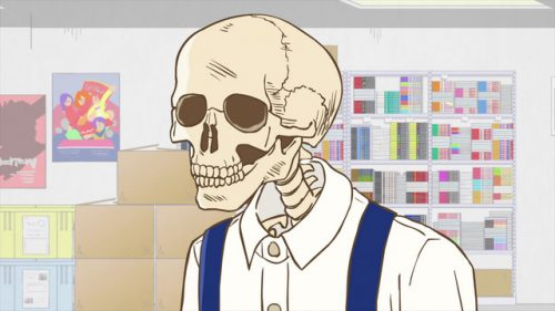 Gaikotsu-Shotenin-Honda-San-Wallpaper Top 10 Skeleton Characters [Updated]