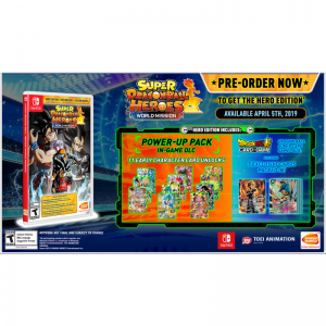SUPER DRAGON BALL HEROES WORLD MISSION to Launch with HERO Edition