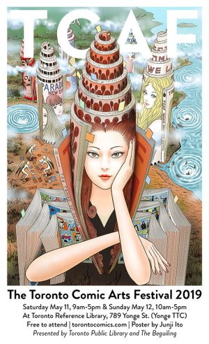 Horror Manga Master JUNJI ITO To Attend Toronto Comic Arts Festival (TCAF)
