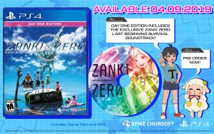 ZANKI ZERO: LAST BEGINNING LAUNCHES ON APRIL 9, 2019