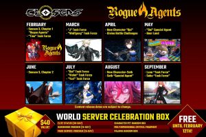 CLOSERS Announces the Launch Date for Season 3: Rogue Agents