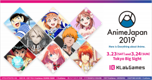 KLabGames Booth at AnimeJapan 2019: Stage Event Details and Schedule Released