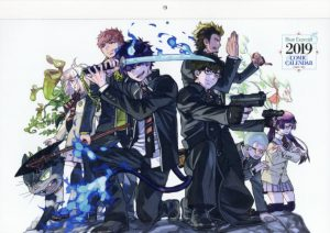 Ao-no-Exorcist-Wallpaper-300x212 Fairy Gone Fall Air Date, ED, Newest PV and Visual All Released!