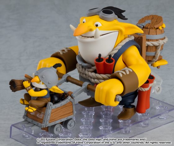 DOTA-2-Techies-GSC-3-560x693 Good Smile Company's newest figure, Nendoroid Techies is now available for pre-order!