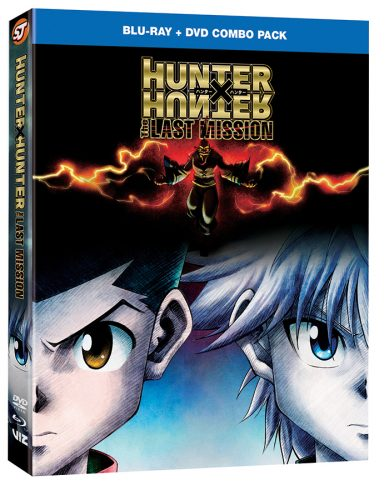 HunterXHunter-TheLastMission-ComboPack-3D-389x500 HUNTER X HUNTER: THE LAST MISSION Anime Movie Debuts On Home Media From VIZ