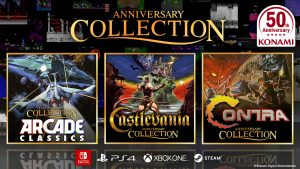 Konami Celebrates 50 Years With Contra, Castlevania and Arcade Classics Collections! Coming this Summer!