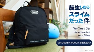 Pre-orders have begun for That Time I Got Reincarnated as a Slime x OUTDOOR PRODUCTS collaboration backpacks!