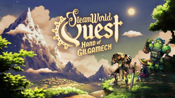 SteamWorld_Quest_Title_Screen-560x315 A New Exciting Adventure Begins! SteamWorld Quest Hits Nintendo Switch on April 25!