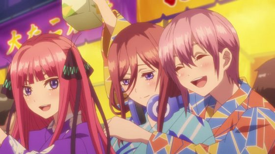 Gotoubun-no-Hanayome-The-Quintessential-Quintuplets-Wallpaper Gotoubun no Hanayome (The Quintessential Quintuplets) Review - 5 Weddings and a Funeral