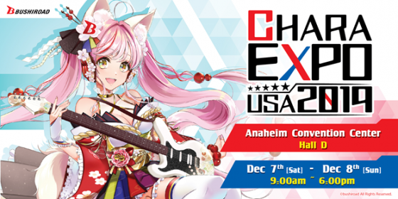 CharaExpo-2019-Logo-560x280 CharaExpo USA Returns For 2019 Bigger Than Ever! Get Ready for ALL THE FUN!