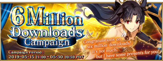 Fate-Grand-Order-6-Mil-SS-1-560x211 Another Milestone Reached! Fate/Grand Order's English Version Surpasses 6 Million Downloads!!
