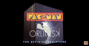 Limited Edition PAC-MAN Figurine by Richard Orlinski Now Available for Pre-Order on the BANDAI NAMCO Entertainment America Online Store