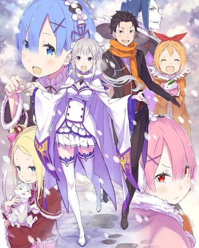 Re-Zero-Starting-Life-in-Another-World-Memory-Snow-401x500 Weekly Anime Ranking Chart [05/29/2019]