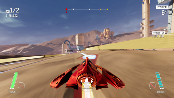 Redout-SS-1 REDOUT Defies Gravity, as it ZOOMS Onto Nintendo Switch Today!