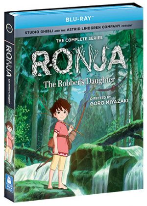 "Acclaimed Studio Ghibli Television Series ""Ronja, The Robber's Daughter"" Makes Blu-ray Debt August 20th, 2019 from Shout! Factory"