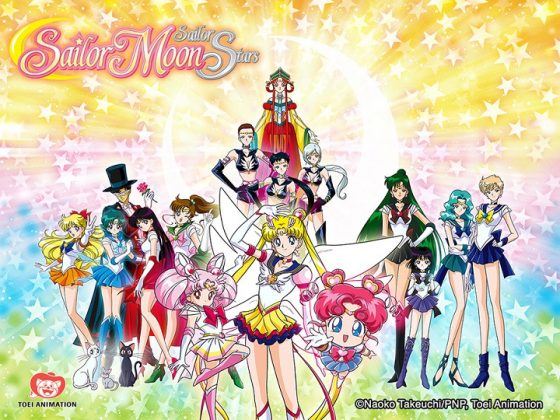 SailorMoon-SailorStars-Season5-KeyImage-560x420 VIZ Media Details Activities And Special Guests For 2019 Anime Central