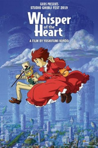 Whisper-of-the-Heart-Splash-332x500 GKIDS & Fathom Events' Studio Ghibli Fest 2019 Continues in July with WHISPER OF THE HEART