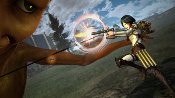 Attack-on-Titan2FB_Mikasa-560x315 Utilize Powerful New Weaponry in Attack On Titan 2: Final Battle!