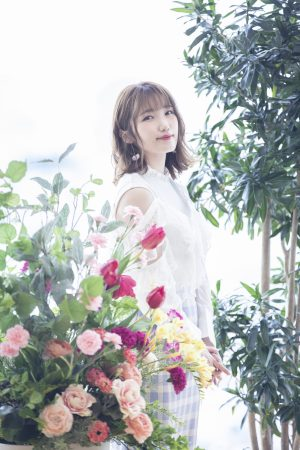 "Aya Uchida reveals ""For me, character songs feel like home"" in her last interview with ANiUTa"