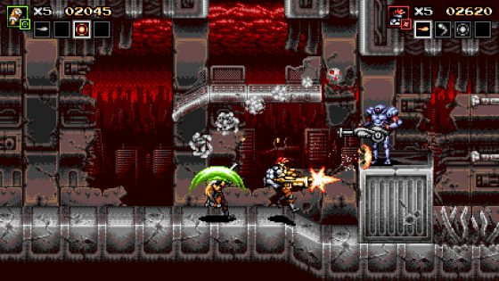 Blazing-Chrome-Key-art-2-560x315 ¿Extrañas Metal Slug? ¡Prueba Blazing Chrome, a partir del 11 de julio en PC, PS4, Switch y Xbox One!