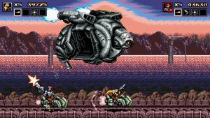 ¿Extrañas Metal Slug? ¡Prueba Blazing Chrome, a partir del 11 de julio en PC, PS4, Switch y Xbox One!