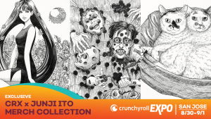 Crunchyroll Officially Announces CRX x Junji Ito Collection!
