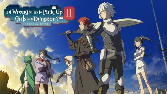 "Danmachi-Season2-Is-it-wrong-to-try-to-pick-up-girls-in-a-dungeon-_BlogHeader-560x315 Sentai Filmworks Set to Tease New Season of Hit Series ""Is It Wrong to Try to Pick Up Girls in the Dungeon?"" at Anime Expo 2019"