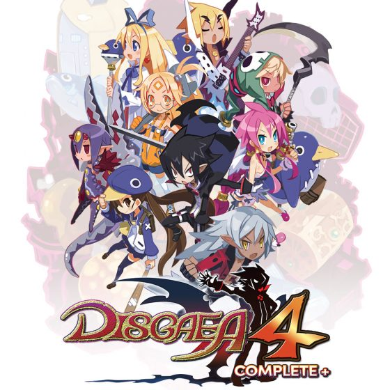 Disgaea-4-complete-logo-560x560 Disgaea 4 Complete+ | The Ultimate CAM-PAIN Arrives on October 29!