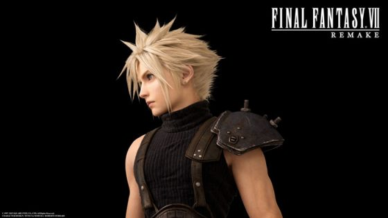 FFVIIR-Cloud-Final-Fantasy-VII-Remake-Capture-560x315 Final Fantasy VII Remake Trailer Debuts at The Game Awards