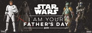 BLUEFIN & BANDAI Launch A STAR WARS Father's Day Promotion